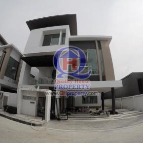 บ้านหรู3ชั้น Nirvana Beyond Kaset-Nawamin ขายขาดทุน พร้อมของแถม คุ้มมาก ด่วน